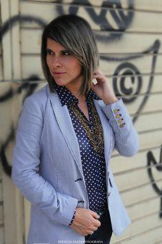 Stripes and Polka Dots #fashion #blogger
