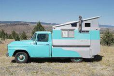 Custom camper! Easily done on one of my HO scale truck frames!