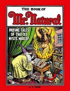 Mr Natural 'Profane Tales of That Old Mystic Madcap' ~ Robert Crumb - Pictify - your social art network Robert Crumb, Fritz The Cat, Underground Comics, Alternative Comics, Black And White Comics, Black White, Social Art, Comic Artist, Comic Books Art