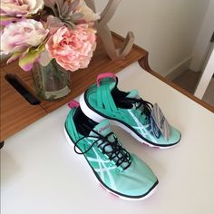 NWT Asics Gel-Fit Sana -7 My favorite shoes. I went a little overboard and bought too many colors. Get compliments on mine all the time. Price firm. No trades please. Thx ❤️ asics Shoes Athletic Shoes