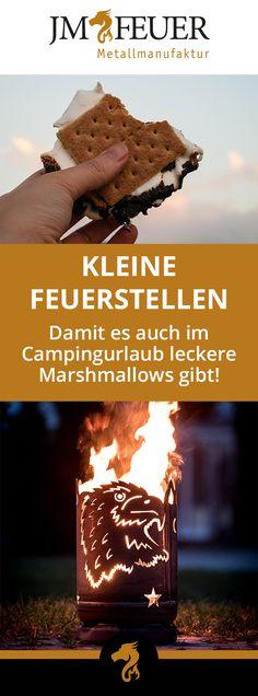 Eine Feuertonne, so klein, dass sie sogar in Camping-Gepäck passt - feuertonne selber machen