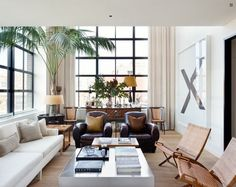 Summer style!! Modern contemporary fresh summer decor, interior, living room, neutral colors, lots of different textures!
