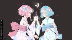 Tags: PNG Conversion, Re:Zero Kara Hajimeru Isekai Seikatsu, Ram (Re:Zero), Rem…
