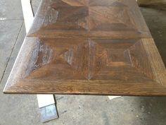 Tischler: French Oak Parquet Table