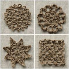 Crochet Motifs in twine