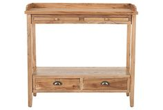 Pickled Oak Console from onekingslane.com, $279.00