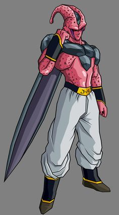 """Super Buu - Cell Absorbed by ~hsvhrt on deviantART. I don't usually pin stuff like this but I thought this """"what if"""" was so awesome. Dragon Ball Z, Dragon Z, Marvel Characters, Anime Characters, Super Buu, Bardock Super Saiyan, Goten Y Trunks, Majin Boo, Manga Dragon"""
