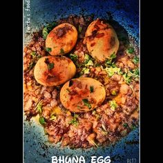"""🆂🆆🅴🆃🆄'🆂 🅵🅾🅾🅳 (@foodies_queenfoodies_queen) added a photo to their Instagram account: """"My dish #Bhunaa #Egg🥚 🌼भुना एग 🌼 #food #foodphotography #foodporn #foodpics #foodblogger…"""" Food Pictures, My Recipes, Foodies, Food Photography, Food Porn, Queen, Dishes, Instagram, Plate"""