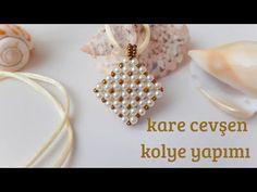 Heart Earrings, Felt Jewelry, Handmade Jewelry, Accessories, Gift By Hand - Custom Jewelry Ideas Heart Earrings, Beaded Earrings, Beaded Jewelry, Handmade Jewelry, Beaded Bracelets, Jewelry Necklaces, Diy Necklace, Pearl Necklace, Necklace Tutorial
