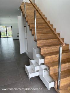 Home Stairs Design, Railing Design, Dream Home Design, My Dream Home, House Design, House Stairs, New House Plans, Home Deco, Future House