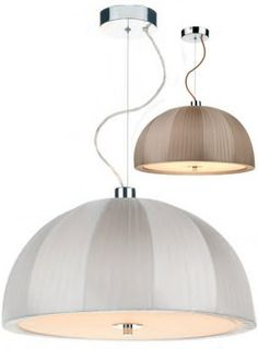 Ivory or Taupe? Decisions, decisions!   http://www.oxfordlightingshowroom.com/pendants-shades