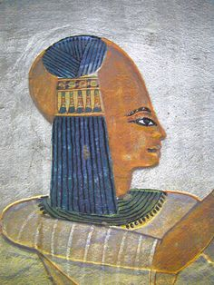 Queen Isetnofret Isetnofret was one of the great royal wives of Pharaoh Ramesses II and was the mother of his heir, Merneptah. She was one of the most prominent of the royal wives, along with Nefertari, and was the chief queen after Nefertari's death. Wikipedia  ( ???this is a young male or female - can't be sure since I can't tell dress from waist down. Probably not a queen? )
