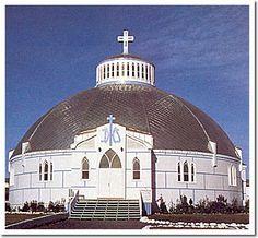 Lady of Victory Church (The Igloo Church), Inuvik, NT, Canada.