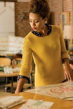 Ravelry: Honey Pullover pattern by Angela Hahn