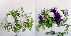 Beautiful holding flowers