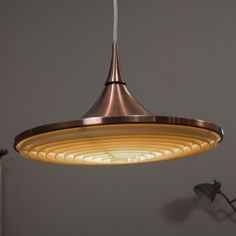 You`re bidding on one ceiling lamp. Mid century modern design 1955 - 1965 plus * full function * nice design. Price for this ceiling lamp: 495,- $ exclusive shipping. Rare ceiling lamp.
