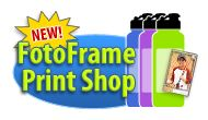 NEW! FotoFrame™ Print Shop...try it today! #moms #sahm #family #facebottle