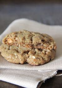 My Happy Place: butterscotch & oatmeal peanut butter cookies