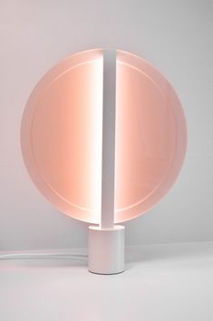 Eindhoven-based Studio Fabian Zeijler designed a collection of lamps inspired by sun gazing called Sun Lights.