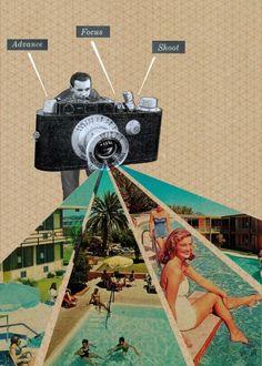 camera #design #creatividad #collage