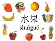 Chinese (Mandarin) Fruit Vocabulary-Pictures, and Activities Character Words, Fruit Picture, Chinese Words, Vocabulary Games, Food Words, Teaching Resources, Diy And Crafts, Activities, Learning