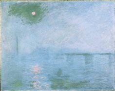 Claude Monet, Charing Cross Bridge: Fog on the Thames, 1903, Harvard Art Museums/Fogg Museum.