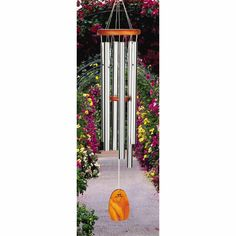 The Amazing Grace Chime ($68.95) from Woodstock Chimes plays notes from one of the most beloved tunes in Western Music. Classic look and gorgeous tone. Comes in several sizes! See them all at www.chimes.com.