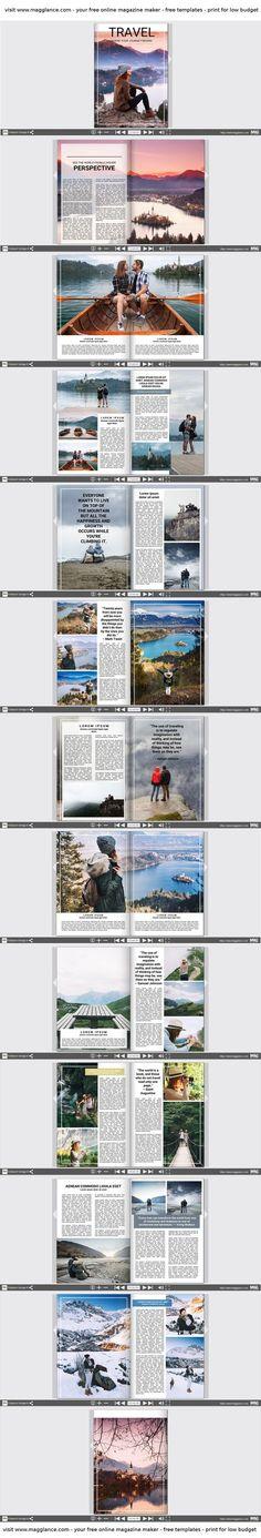 Design Portfolio Layout Print Inspiration 34 Ideas For 2019 Foto Magazine, Mise En Page Magazine, Book And Magazine, Album Photo En Ligne, Layout Print, Free Photo Book, Photography Brochure, Modern Books, Buch Design