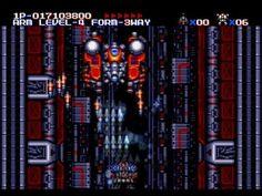 M U S H A Musha Aleste Hard Mode Sega Mega Drive Genesis Full Game Sega Mega Drive Full Games Games