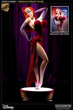 Sideshow Collectibles - Jessica Rabbit Premium Format Figure
