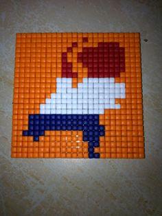 Pixelhobby Magneet Kind, Pixel Art, Holland, Mosaic, Homemade, The Nederlands, Home Made, Mosaics, The Netherlands