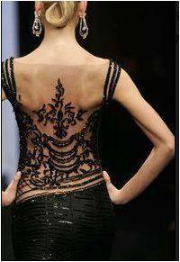 A sensual tango dress.