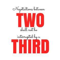 Of twos and threes.