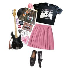 ♡shoegaze sweetheart ♡ by late70s on Polyvore featuring France Luxe and GAMA-GO