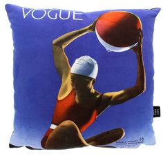 Vogue cover cushion. Vogue cover by Edward Steichen, July 1932. Bespoke and exclusive for #Vogue100