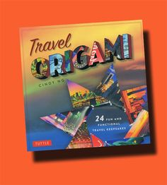Travel Origami. New book - genius idea. Transform travel bumph - brochures, maps, postcards - into origami keepsakes. http://thepapercraftpost.blogspot.co.uk/2014/08/travel-origami-cute-keepsakes-to-fold.html