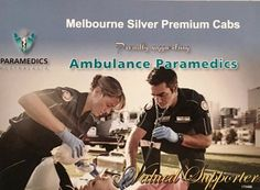 #Melbourne silver Premium Cabs Proudly supporting Ambulance Paramedics