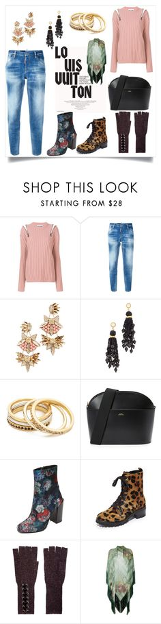 """Set sale alert"" by kristeen9 on Polyvore featuring Louis Vuitton, Moschino, Dsquared2, Deepa Gurnani, Lizzie Fortunato, Madewell, A.P.C., Jeffrey Campbell, Schutz and Autumn Cashmere"