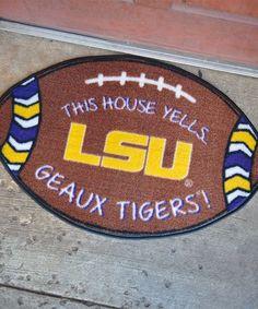 LSU Tigers Football Doormat