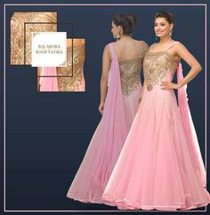 Enhance your charm in all wedding functions with Raj Arora's Roop Vatika collection!