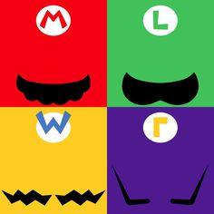 Super Mario Bros and Wacky Wario Bros by James Anderson Super Mario Party, Super Mario Bros, Super Mario 1985, Super Smash Bros, Mario Und Luigi, Mario Bros., Mario Kart, Legend Of Zelda, Nintendo World