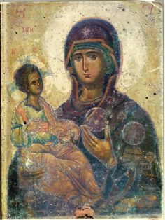 View album on Yandex. Religious Pictures, Religious Icons, Religious Art, Byzantine Art, Byzantine Icons, Early Christian, Christian Art, Mother And Child Painting, Greek Icons