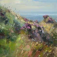 Rex Preston(1948~)「July Afternoon, Priests Cove, Cornwall」
