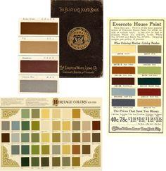 Vicotiran interior paint colors | Divine Consign: Historic Home Colors