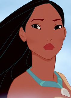pocahontas was voted the most beautiful & realistically drawn Disney princess #yeahbuddy