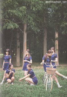 "GFRIEND - Flower Bud ""The 2nd Mini Album"" Gfriend Album, Gfriend Profile, Six Girl, Summer Rain, Water Flowers, G Friend, Daughter Of God, I Fall In Love, Mini Albums"