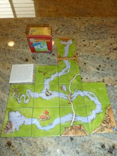 Carcassonne The River II Expansion Rio Grande Games River 2