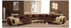 Graceful Modern Brown Living Room Paint Colors With Luxurous Ultra Elegant Brown Sofa Design Idea Image Room Paint Colors, Paint Colors For Living Room, Living Room Sets, Living Room Designs, Living Area, Wall Colors, Color Walls, Bedroom Designs, Sofa Design