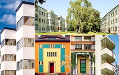 Berlin Modernism Housing Estates. The property consists of six housing estates built from 1910 to 1933.