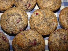 Meggyes-mákos muffin recept